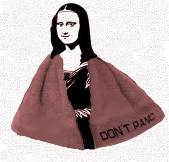 Mona Lisa, don't panic !